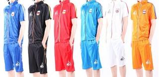 サッカー フットサル スポーツジャージ 上下セット ファッション スポーツウェア