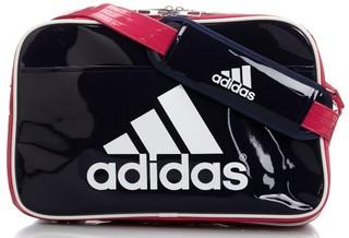 アディダス エナメルショルダーバッグ M2 adidas スポーツバッグ